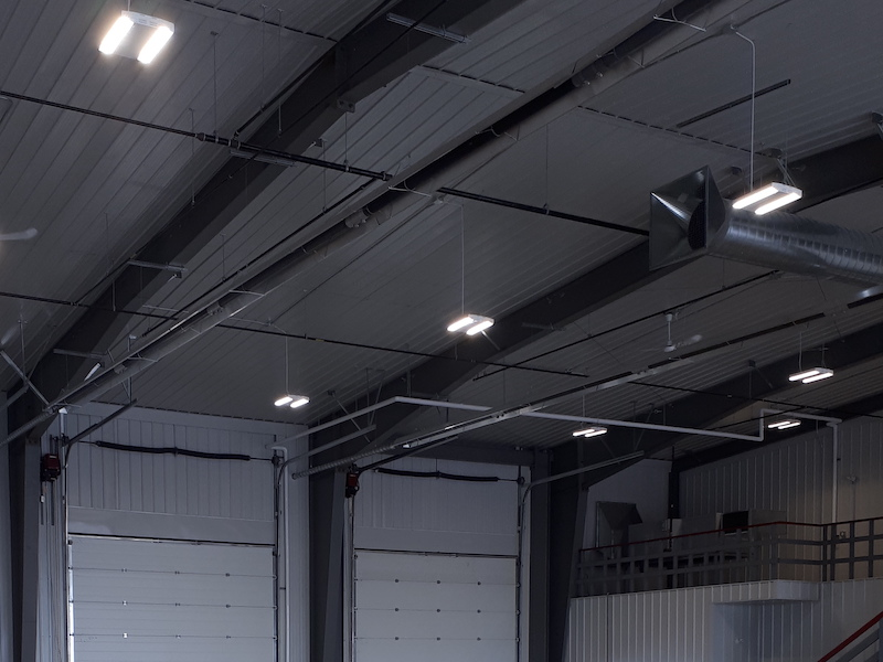 commercial garage tube heaters